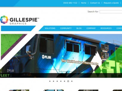 Gillespie-Graphics.com in Oregon