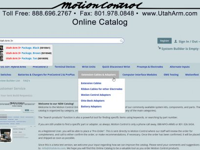 Motion Control Catalog in Utah