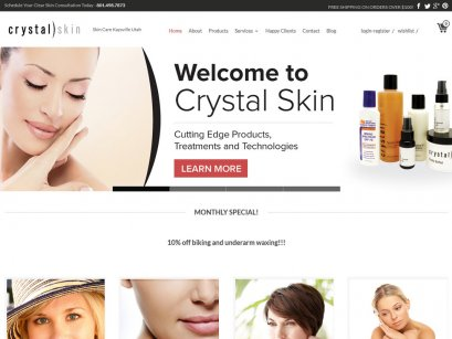 CrystalSkinProducts.com in Utah